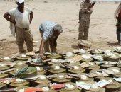 تحالف رصد انتهاك حقوق الإنسان: 200 يمنى ضحايا ألغام الحوثيين × 5 أشهر
