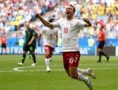 كأس العالم 2018.. إريكسن أفضل لاعب فى مباراة الدنمارك وأستراليا
