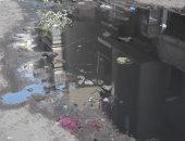 قارئ يشكو من استمرار مشكلة الصرف الصحى بشارع السويفى بالمطرية