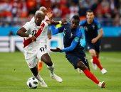 فيديو وصور.. فرنسا تتقدم على بيرو 1 - 0 فى الشوط الأول بكأس العالم 2018