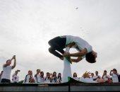 """انطلاق اليوم العالمى لليوجا بشعار """"اليوجا من أجل السلام"""""""