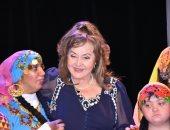 صور.. تكريم ليلى طاهر فى أمسية فنية ثقافية