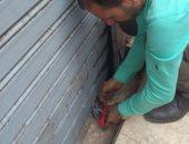 غلق 7 مقاهى مخالفة بدار السلام بعد  إشغال أرصفة شارعى الفيوم وأحمد زكى