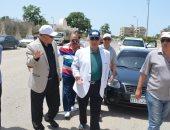 حملة لإزالة المخلفات والقمامة ورفع كفاءة شوارع حى ثالث بالإسماعيلية