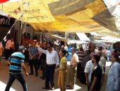 صور.. حملة لإزالة إشغالات شارع الثلاثينى فى بورسعيد