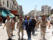 مدير أمن الغربية يتفقد خدمات تأمين المسجد الأحمدى بطنطا