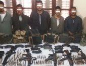 ضبط مسلحين يسطون على المواطنين بالبحيرة بحوزتهم أسلحة وذخيرة