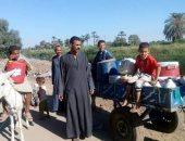 أهالى قرية الحراجية بقنا يشتكون من انقطاع المياه لفترات طويلة