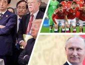 """تزامنا مع انتصارات روسيا فى كرة القدم.. بوتين يسجل أهدافه بطريقته الخاصة على هامش المونديال.. الرئيس الروسى نجح فى دحض خطة الغرب فى مقاطعة كأس العالم.. وخبير يؤكد دبلوماسية """"الرياضة"""" سلاح موسكو لاستعادة نفوذها"""
