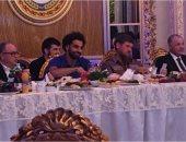 """صور.. """"بعد شيخ الأزهر"""" محمد صلاح ثانى مصرى يحصل على حق المواطنة الشيشانية"""