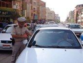 ضبط 510 مخالفات متنوعة فى حملات مرورية ببنى سويف