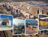 """صور.. الإنجازات تتوالى.. """"اليوم السابع"""" مع عمال المشروع القومى لمحطة الكهرباء العملاقة بالبرلس.. انتهاء 99.6% من المشروع بـ45 مليون ساعة عمل لـ9 آلاف مهندس وفنى وعامل.. والمشروع يضخ 4800 ميجاوات للشبكة الرئيسية"""