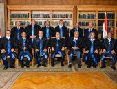 """""""المحكمة الدستورية"""" تنظم حفلا لتكريم رئيسها الحالى وتهنئة الجديد"""