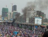 أول صور لآثار انفجار استهدف رئيس وزراء إثيوبيا