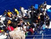 حرس السواحل الليبى: إنقاذ 94 مهاجرا غير شرعى وانتشال جثة مصرى