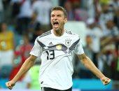 مولر يخوض المباراة رقم 100 مع ألمانيا ضد هولندا بدوري الأمم الأوروبية