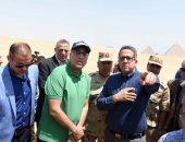 فيديو وصور.. وزير الآثار: المتحف المصرى الكبير هدية مصر للعالم وافتتاح المرحلة الأولى2019