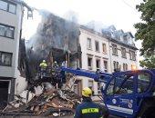 صور..إصابة 5 أشخاص فى انفجار منزل بألمانيا