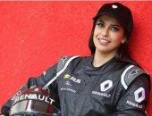 """""""أسيل الحمد"""" أول سعودية تقود سيارات الفورمولا 1 فى فرنسا"""