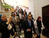 رئيس الوزراء عقب لقائه على عبد العال: بيان الحكومة أمام البرلمان قبل 4 يوليو