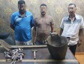 القبض على 3 عمال أثناء التنقيب عن الاثار داخل عقار بمصر القديمة