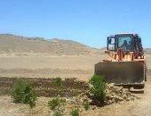 """محافظة أسوان: إزالة تعديات علي 205 ألف متر لغابة شجرية بـ""""الكلح"""" فى إدفو"""