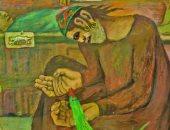 """الاختفاء والبيع.. تفاصيل لوحة """"أذن من طين وأخرى من عجين"""" لـ عبد الهادى الجزار"""