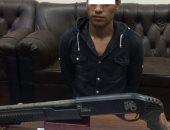 ضبط محكوم عليه فى عدة قضايا بحوزته بندقية خرطوش و4 طلقات بالغربية
