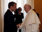 صور.. ماكرون يلتقى بابا الفاتيكان لبحث ملفات مشتركة أبرزها المهاجرين