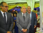 محافظ دمياط ورئيس هيئة الكتاب يفتتحان معرض رأس البر الأول