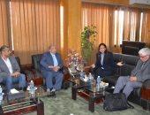 محافظ الإسماعيلية يستقبل وفد ممثلى هيئة فولبرايت المصرية الأمريكية
