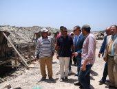 صور.. محافظ كفرالشيخ يتابع أعمال المرحلة الثانية من كورنيش بحيرة البرلس