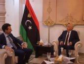 رئيس برلمان ليبيا يبحث مع السفير الإيطالى إجراء انتخابات رئاسية وبرلمانية