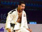 محمد عبد العال يحتل المركز الخامس ببطولة الجائزة الكبرى للجودو
