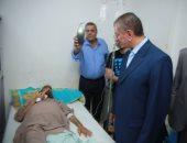 فيديو وصور.. جولة مفاجأة لمحافظ كفر الشيخ لمركز أبحاث الكبد.. تعرف على قراراته
