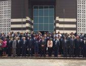صورة تذكارية لوزراء خارجية الدول الأعضاء فى الاتحاد الإفريقى بنواكشوط