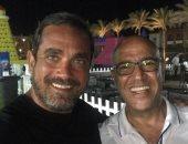أمير كرارة ينشر صورة مع أشرف عبد الباقى ويعلق: هو فى أحلى من كده
