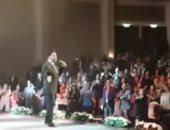 عاصى الحلانى ينشر فيديو من حفل ذكرى ثورة 30 يونيو