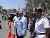 مدير أمن السويس يتفقد الكمائن الأمنية بالميادين وطريق السخنة