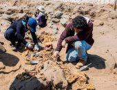 صور..البيرو تعثر على رفات 251 طفلا فى مقبرة جماعية بعد ذبحهم كقرابين