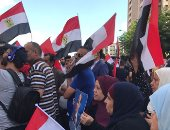 بالصور.. احتفالات المصريين بثورة 30 يونيو فى شوارع لبنان