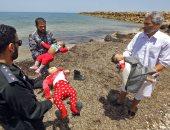 """صور.. """"مأساة إنسانية جديدة"""" غرق عدد من الأطفال المهاجرين قبالة سواحل ليبيا"""