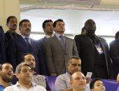 صور.. وزير الرياضة يحضر افتتاح تصفيات أفريقيا المؤهلة لمونديال السلة