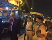 مدير أمن القليوبية يتفقد كمين شبرا الخيمة