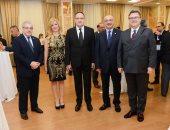صور.. سفارة مصر بألبانيا تحتفل بالذكرى الخامسة لثورة 30 يونيو