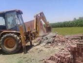 ارتفاع حصيلة إزالة التعديات على الأراضى لـ 30 ألف فدان ومليون و400 ألف متر مربع