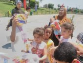فى ذكرى 30 يونيو.. حدائق القاهرة توزع هدايا على الأطفال وتستقبل 15 ألف زائر