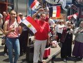 صور.. المصريون يحتفلون بذكرى ثورة 30 يونيو فى شوارع نيويورك