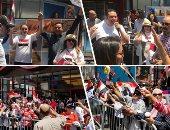 فيديو.. الهجرة تشجع المصريين بالخارج للمشاركة بالاستفتاء بلقطات من اليوم الأول