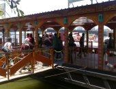 صور لشم النسيم.. إقبال كبير على مرسى الأتوبيس النهرى بماسبيرو
